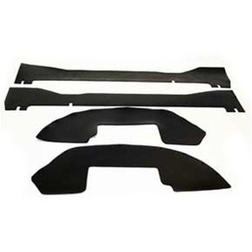"""Performance Accessories, Ford F-150, 2WD and 4WD, Ext. Cab, Gap Guards for 3"""" body lift, fits 2004 to 2014, PA6742, Made in America"""