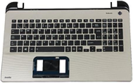 Toshiba A000295790 Carcasa con Teclado refacción para Notebook - Componente para Ordenador portátil (Carcasa con Teclado
