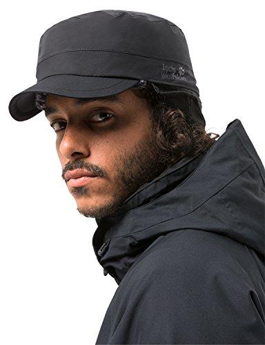Jack Wolfskin Texapore Winter Calgary Waterproof Insulated Hat, Black, Medium