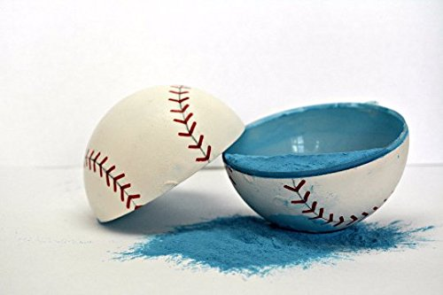 Blue Gender Reveal Baseball