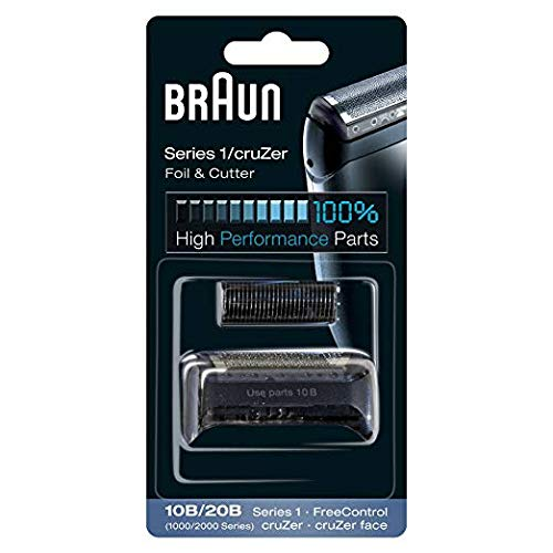 (Braun 1000/2000FC/10B/20B Replacement Foil & Cutter For Shaver Model 190s-1)