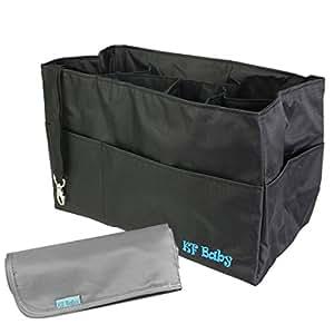 Amazon Com Kf Baby Diaper Bag Insert Organizer 12 X 6 4