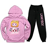 Youth Lankybox Foxy Pullover Hoodie and Sweatpants