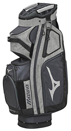 Mizuno Br-D4C Golf Cart Bag, Grey/Black by Mizuno