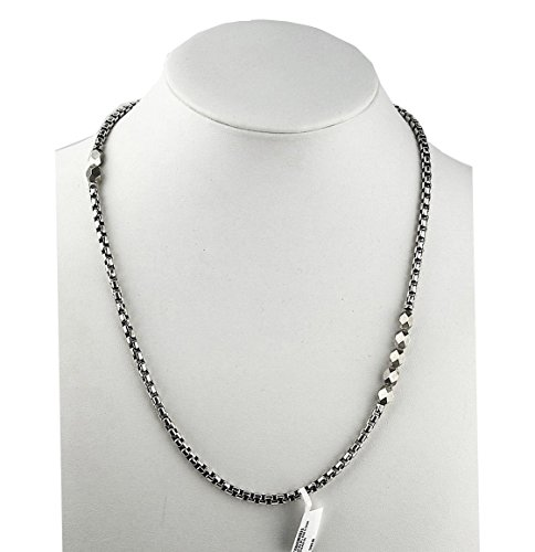 david-yurman-st-silver-faceted-metal-beads-22-4mm-box-chain-necklace-new-box-4