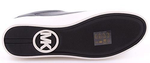 MICHAEL KORS mujeres bajas zapatillas de deporte de las ZAPATILLAS 43S7WLFS1L Willie White Negro