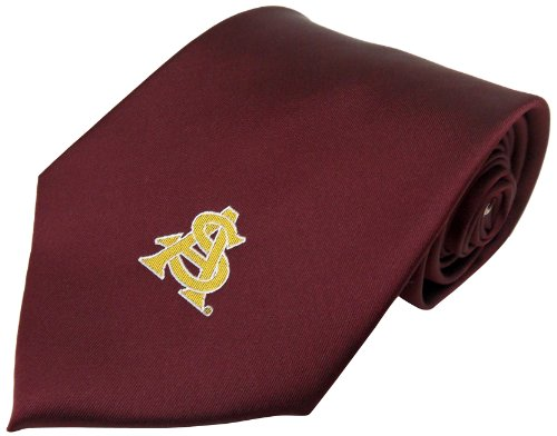 NCAA Arizona State Solid Necktie