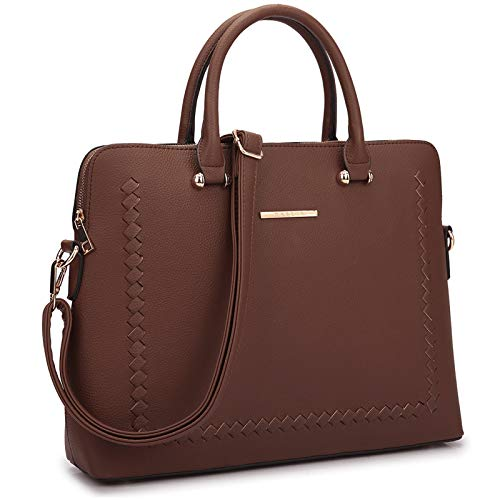 Dasein Handbags Purses for Women Satchel Bag Large Top Handle Work Tote Shoulder Bag