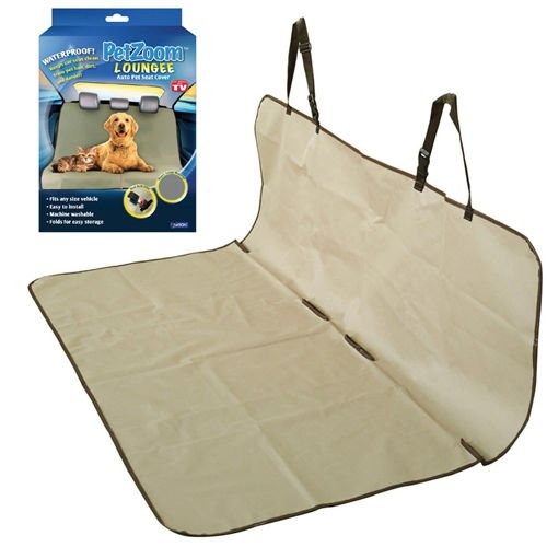 PetZoom Loungee Auto Pet Seat Cover 8352A-6