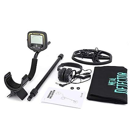 KNOSSOS Detector de Metales subterráneo TX-850 Detector de Tesoros de Mano, buscador de