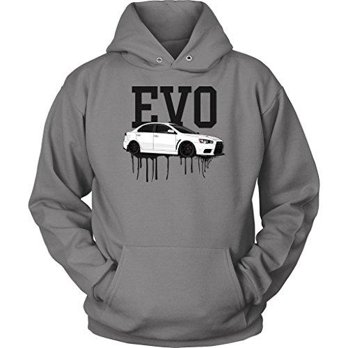 DDI Mitsubishi Evolution X EVO Tuner JDM Hoodie Sweatshirt from DDI