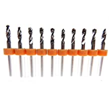10 Pcs Tungsten Carbide Micro Drill Bits 3.0mm Japanese made for CNC PCB Dremel Installation, Toy Making, Arts & Crafts, Woodworking more... by 3rd Venue