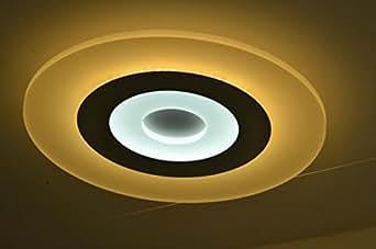 Acrílico luz de techo moderna simple lámpara luz dormitorios, salones, salones promesa lámpara de techo de techo de LED , 900*600mm