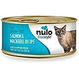 Nulo Grain Free Canned Wet Cat Food (Salmon & Mackerel, 5.5 oz, Case 24)