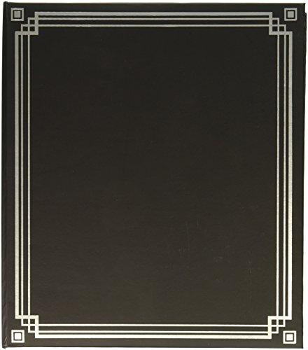 (K&Company Black Magnetic Binder Photo Album 9.75