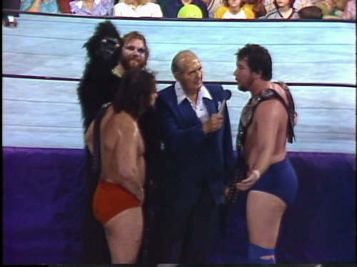 Mid-South Wrestling October 1982 No Disqualification Match For The North American & Mid-South Tag Team Championships  Junkyard Dog & Mr. Olympia Vs. Ted DiBiase & Matt Borne