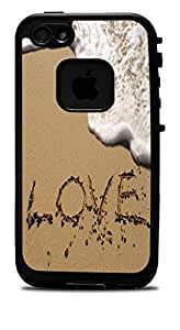 """The Word Love in The Sand Vinyl Decal Sticker for iPhone 6 (4.7"""") Lifeproof Case by supermalls"""