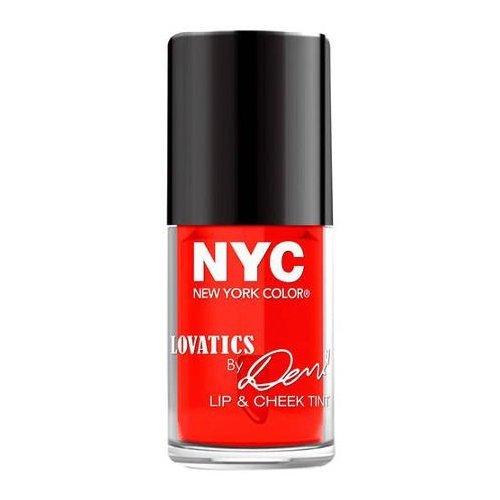 NYC Lovatics by Demi Lip & Cheek Tint - Cheeky Red by NYC