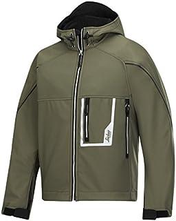 Snickers Workwear, 1219, Giacca Softshell Con Cappuccio Oliva Taglia Xl 12193204007