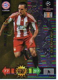 Adrenalyn XL Champions League 2010/11 - CHAMPIONS - Ribery [Toy]