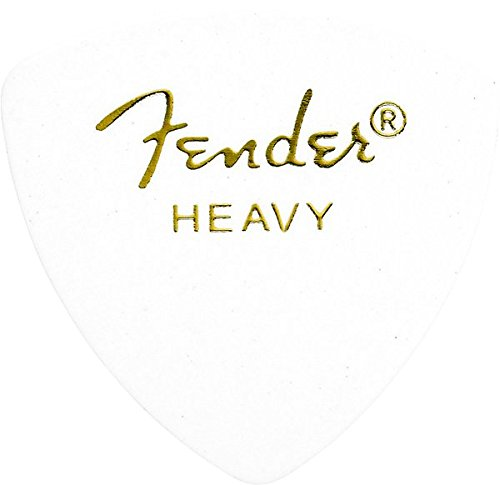 Fender 346 Shape Classic Celluloid Picks (12 Pack) for electric guitar, acoustic guitar, mandolin, and (Celluloid Rounded Triangle)