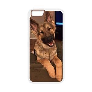"AKERCY German Shepherd Dog Phone Case For iPhone 6 Plus (5.5"") [Pattern-4]"