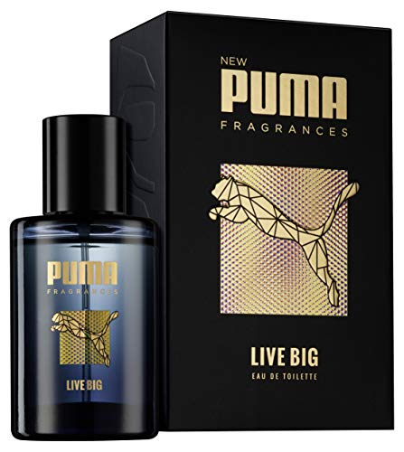 Puma Eau de Toilette Natural Spray Vaporisateur Live Big , 50 ml