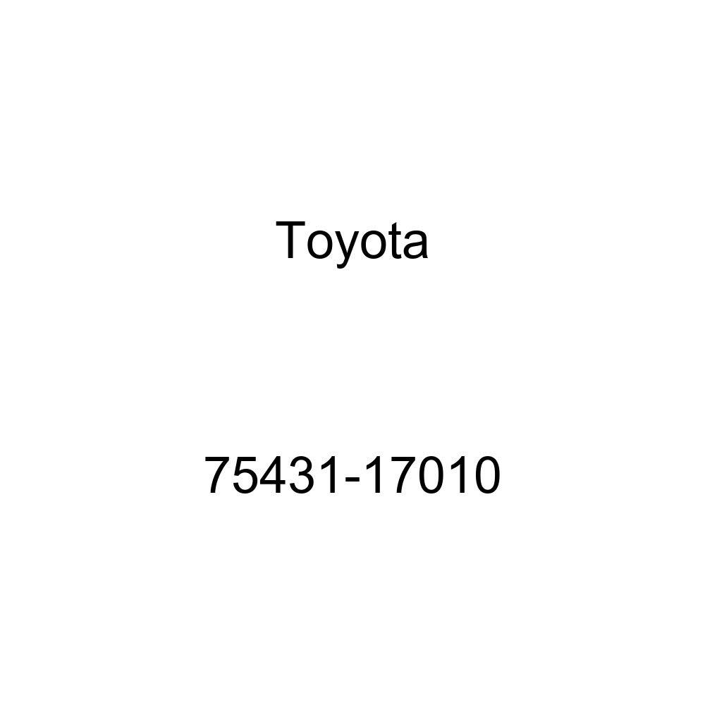 Toyota 75431-17010 Luggage Compartment Door Emblem
