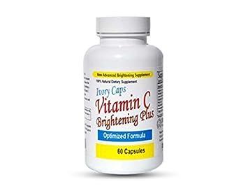 Ivory Caps Aclarar Y Blanquear La Piel Vitamina C Plus Brillo: Amazon.es: Belleza