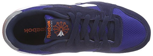 Reebok GL 3000 Zapatillas de running, Mujer Azul / Azul Marino / Naranja (Team Dark Royal/Navy/Energy Orange/Steel)