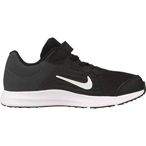 Scarpe psv Bambino anthracite 001 Nero Nike 8 Downshifter black white Running xXpEXwqz