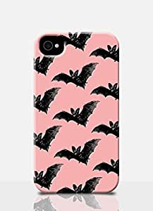 Bats Iphone 5c Case Goth Girl Pink Girly Gothic Halloween Emo Indie Slim 5c Cover by ruishername