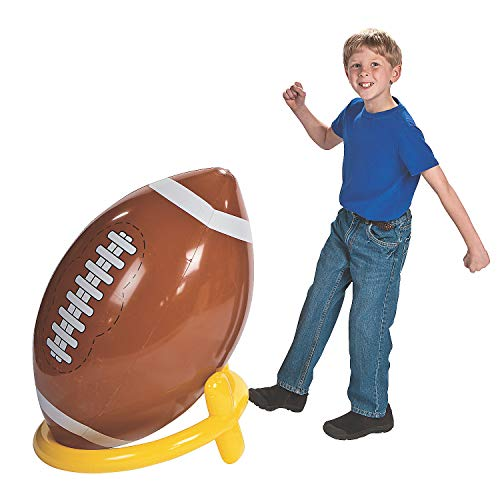 (Fun Express - Giant Football and Tee - Toys - Inflates - Inflatable Decor - 2)