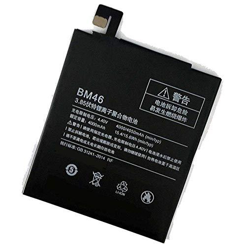 Powerforlaptop Replacement BM46 Backup Battery Replacement for Xiaomi Redmi Note 3 Redmi Note3 Pro Phone