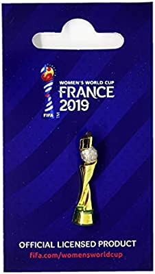FIFA Womens World Cup France 2019 Pins Trofeo 30 mm Copa Mundial ...