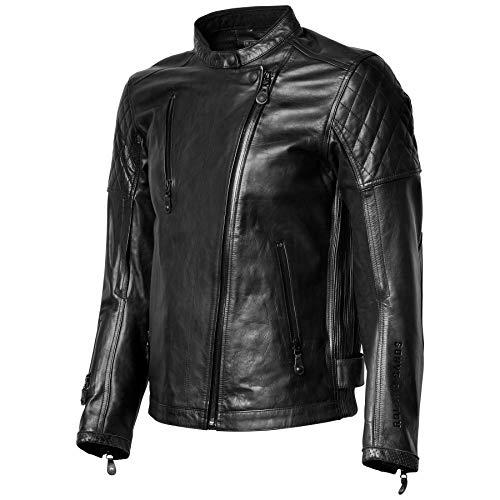 Roland Sands Design Signature Clash Leather Jacket Black Large (More Color and Size Options)