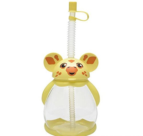 16oz GIRAFFE SIPPY CUP, Case of 50 by DollarItemDirect