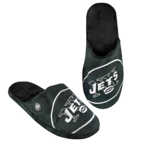 - New York Jets 2011 Big Logo Men Slipper Tpr Sole Large