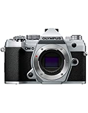 Olympus OM-D Mirroless Camera Body Only, Silver, (E-M5 Mark III)
