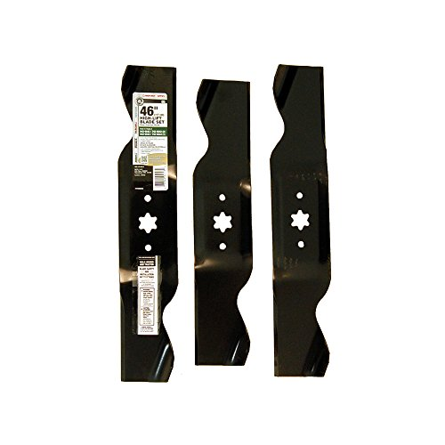 Yard Machines Parts - MTD Genuine Parts 46-Inch High-Lift Blade Set for Mowers 1996 and Prior