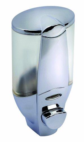 ADOB, Elegante dispenserVera per sapone liquido, shampoo, gel doccia o crema