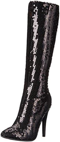 (Ellie Shoes Women's 511-Tin Boot, Black, 9 M)