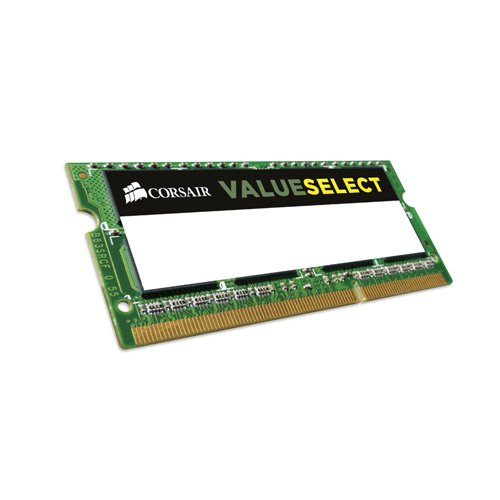 Corsair CMSO8GX3M1C1600C11 Value Select Memoria da 8 GB (1x8 GB), DDR3, 1600 MHz, CL11 memoria di lavoro