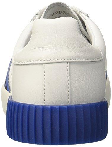 Bianco Uomo Cosmos Sneaker Bikkembergs 2096 Blue White HBqIHFwt