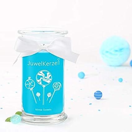 Bague S JewelCandle Winter Sweets Bougie Parfum/ée avec Bijou Surprise en Argent