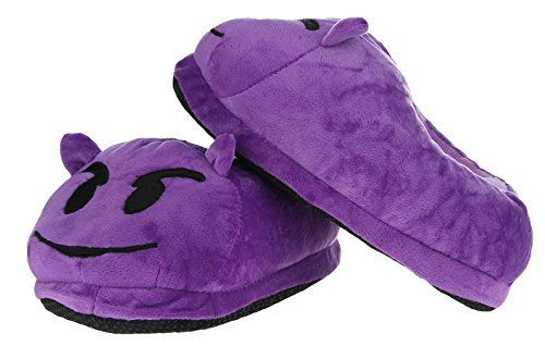 V-SOL Chanclas Invierno Emoji Emoticon Zapatillas Unisex Modelo K