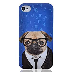 Conseguir Señor Perro patrón duro caso para iPhone4/4S