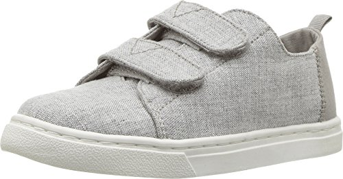 - TOMS Kids Unisex Lenny (Infant/Toddler/Little Kid) (5 Toddler, Drizzle Grey Slub Chambray)