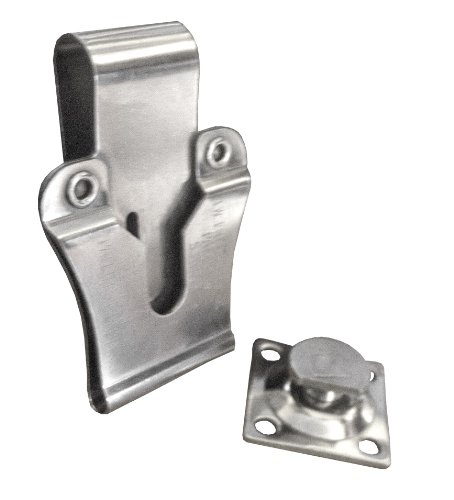 (Springfield Leather Company Nickel Plate Powerwedge Swivel Belt Clip)