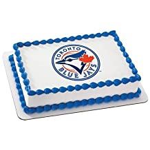 Toronto Blue Jays Licensed Edible Cake Topper #4707